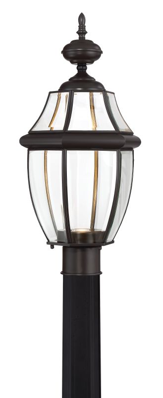 "Quoizel NYCL9011 Newbury Clear Single Light 22"" Tall LED Outdoor"