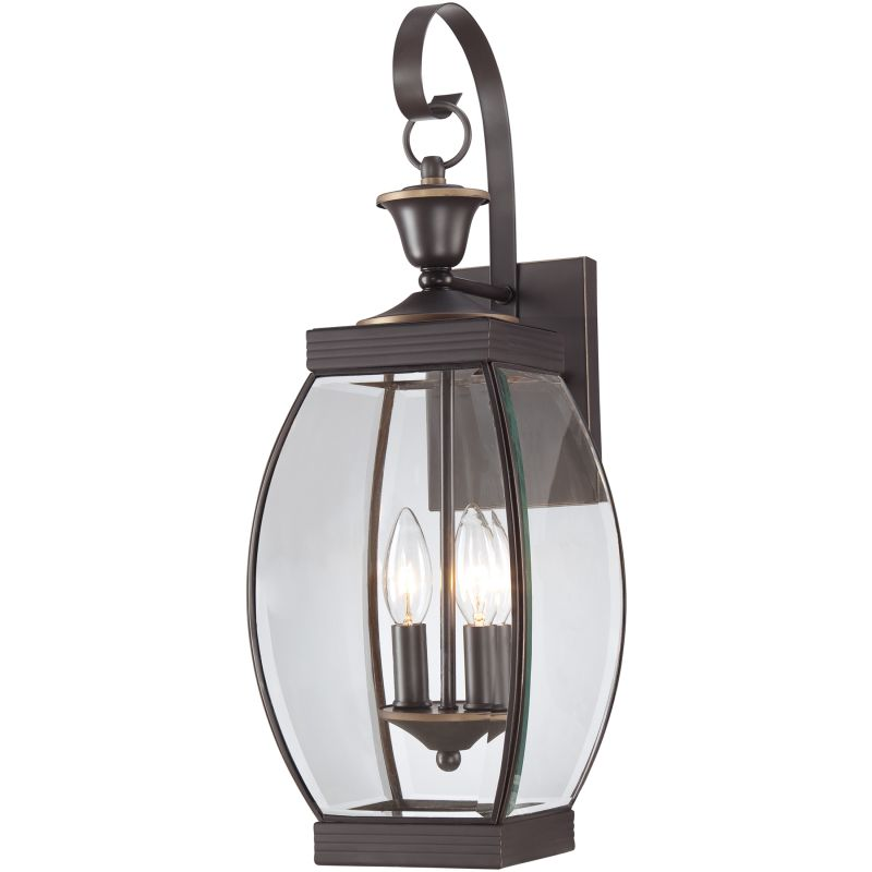 Quoizel OAS8408 Oasis 2 Light 21&quote Tall Outdoor Wall Sconce with Clear