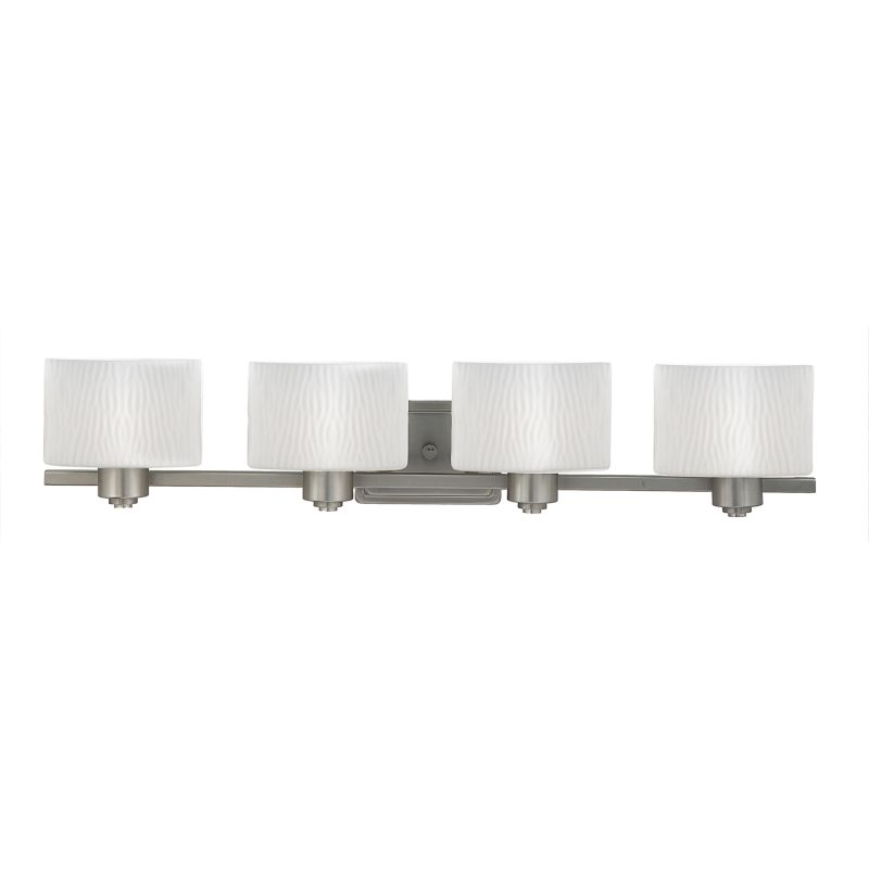 "Quoizel PF8604 Pacifica 4 Light 34"" Wide Reversible Bathroom Vanity Sale $239.99 ITEM: bci360593 ID#:PF8604ES UPC: 611728110706 :"