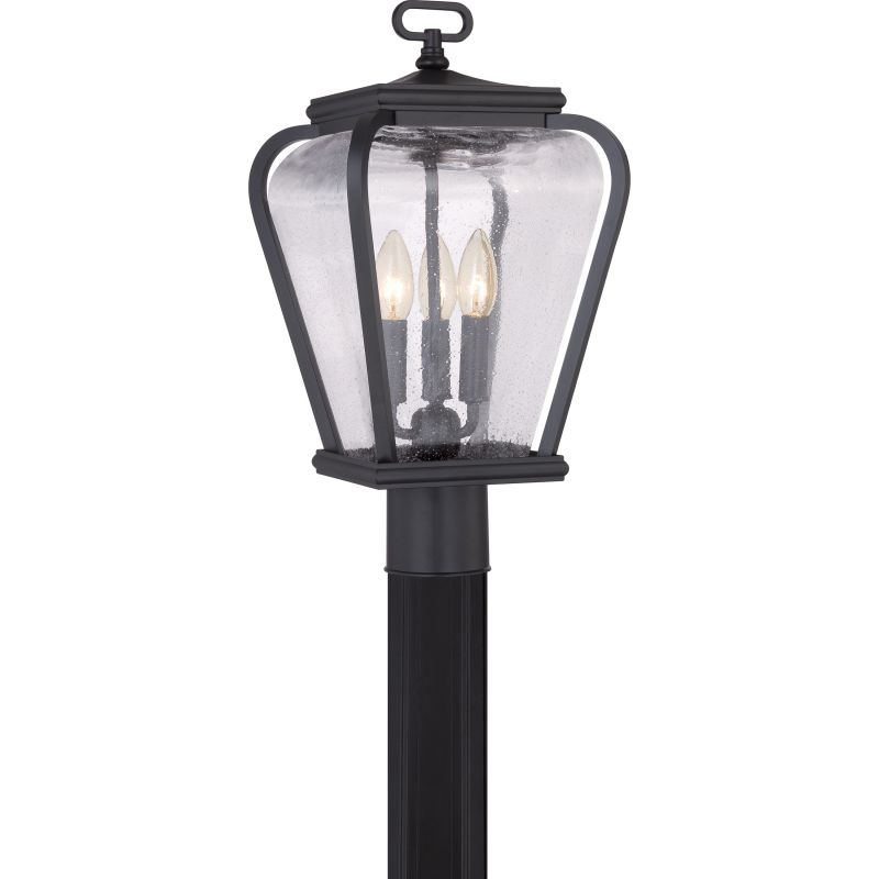 Quoizel PRV9009 Province 3 Light Outdoor Post Light Mystic Black Sale $219.99 ITEM: bci2621134 ID#:PRV9009K UPC: 611728212882 :