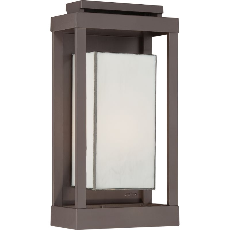 "Quoizel PWL8309 Powell 1 Light 17"" Tall Outdoor Wall Sconce with White"