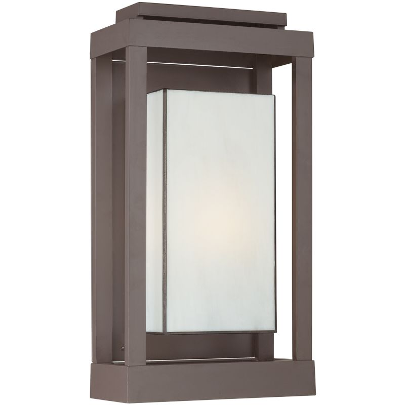 "Quoizel PWL8311 Powell 1 Light 21"" Tall Outdoor Wall Sconce with White"
