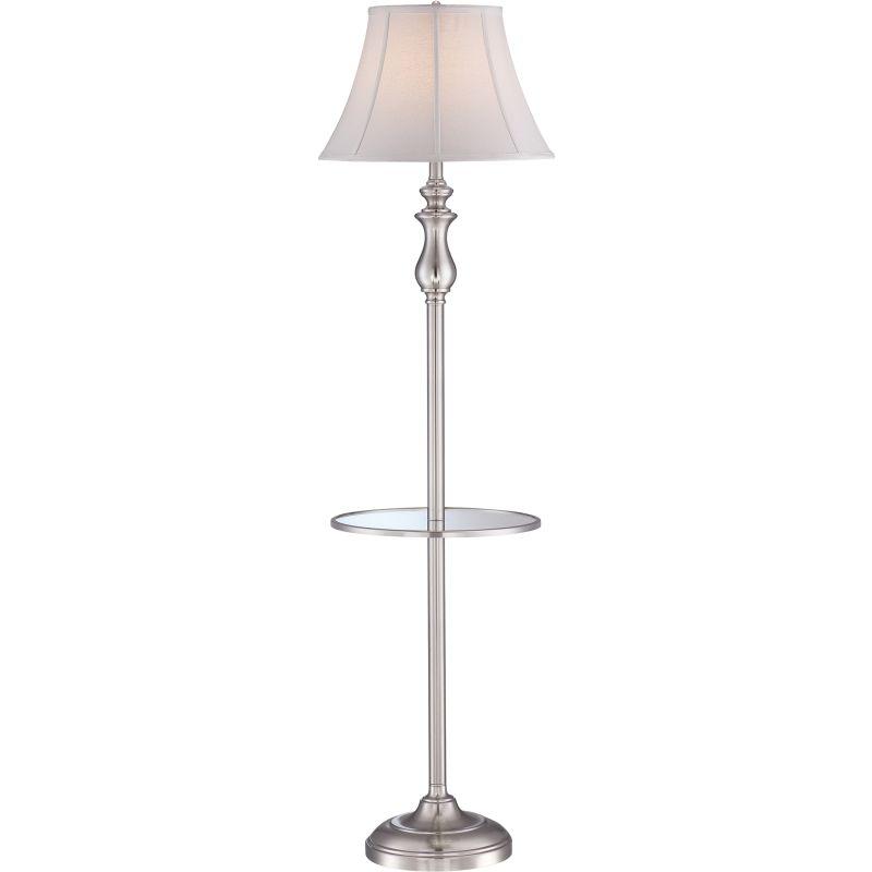 "Quoizel Q1055F Signature 1 Light 61"" Tall Floor Lamp with Softback"