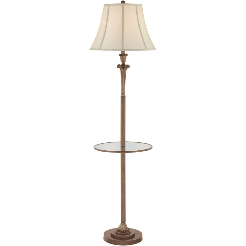 "Quoizel Q1073F Signature 1 Light 60"" Tall Floor Lamp with Beige"