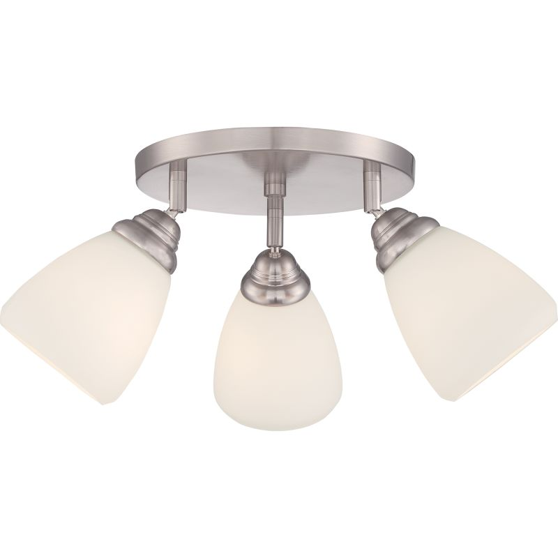 Quoizel Qf1778sbn Brushed Nickel Signature 3 Light 13