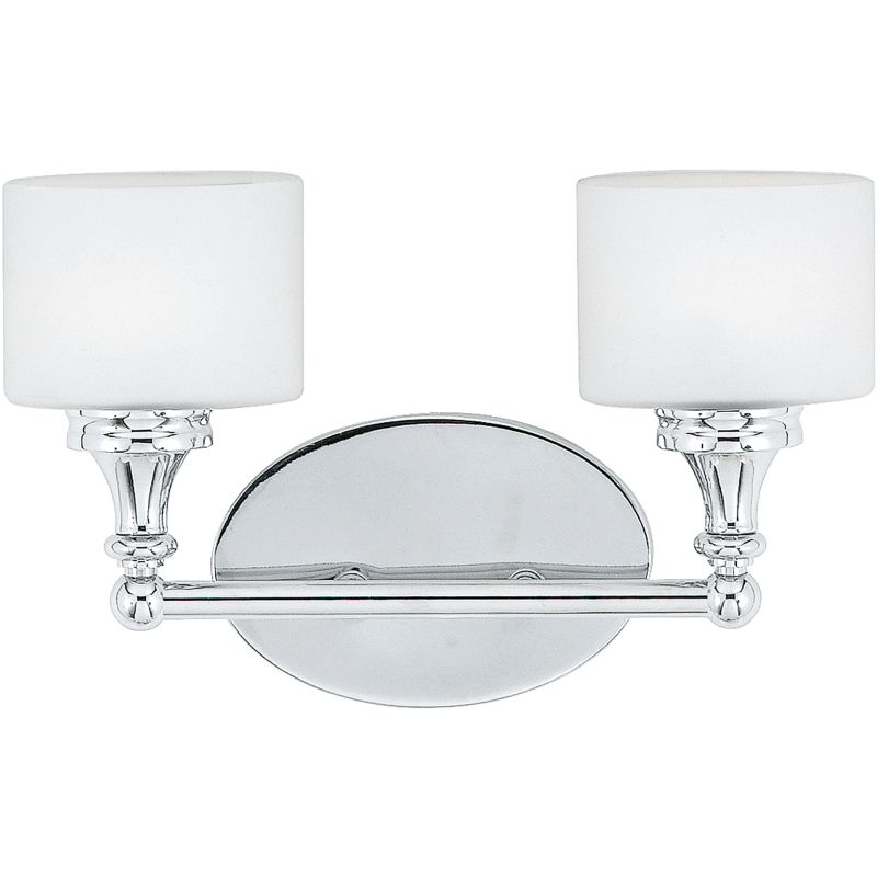 Quoizel QI8602C Polished Chrome Contemporary Quinton Bathroom Light