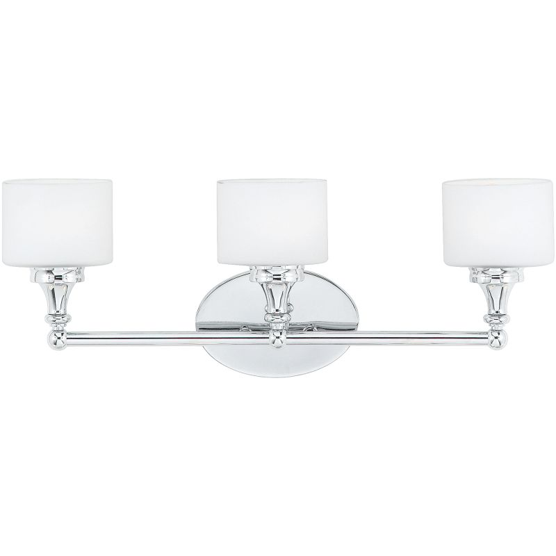 Quoizel QI8603C Polished Chrome Contemporary Quinton Bathroom Light