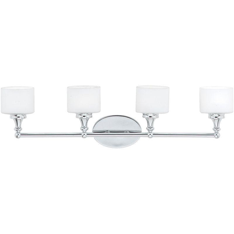 Quoizel QI8604C Polished Chrome Contemporary Quinton Bathroom Light