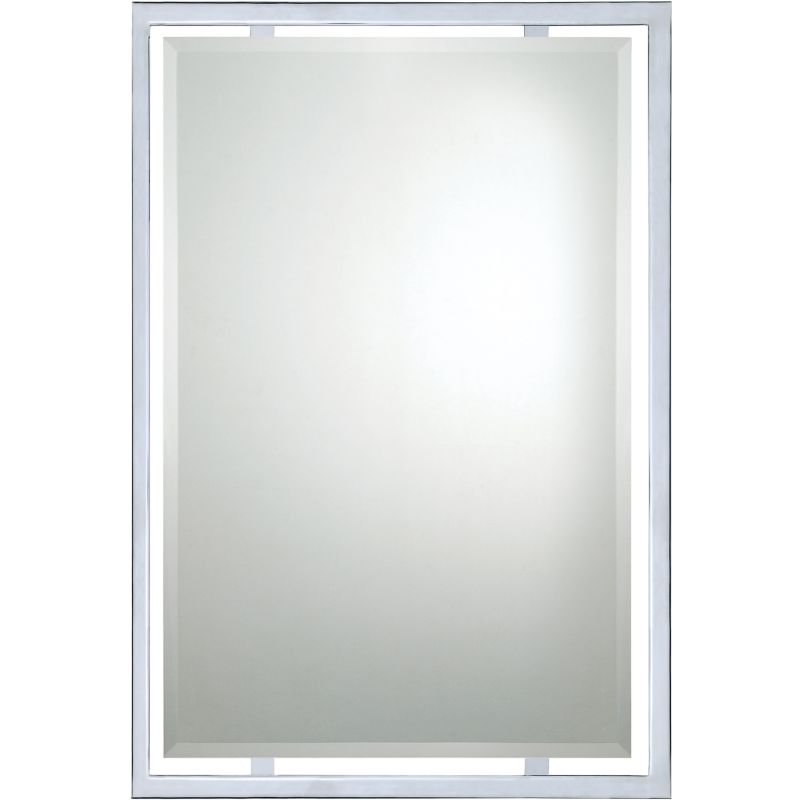 "Quoizel QR1221 Reflections 32"" x 22"" Rectangular Decorative Mirror"
