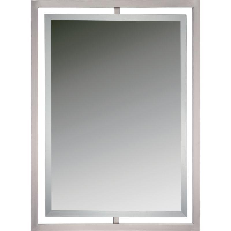 Quoizel QR1857 Reflections Rectangle Steel Framed Beveled Mirror