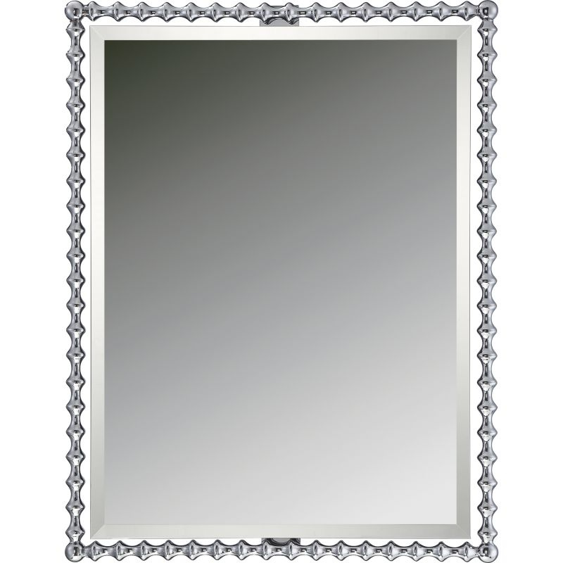 Quoizel QR1864 Reflections Rectangle Steel Framed Beveled Mirror