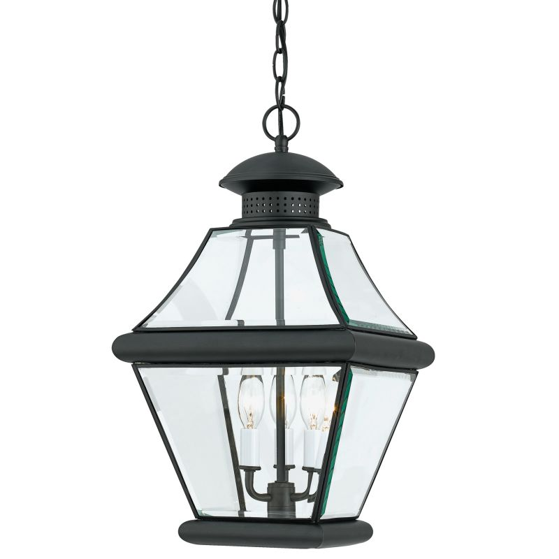 "Quoizel RJ1911 Rutledge 3 Light 11"" Wide Outdoor Pendant Lantern with"