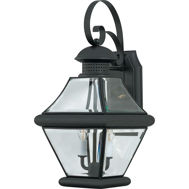 "Quoizel RJ8409 Rutledge 2 Light 19"" Tall Outdoor Wall Sconce with"