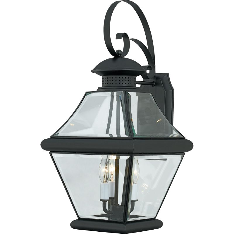 "Quoizel RJ8411 Rutledge 3 Light 24"" Tall Outdoor Wall Sconce with"
