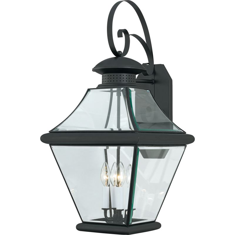 "Quoizel RJ8414 Rutledge 4 Light 29"" Tall Outdoor Wall Sconce with"
