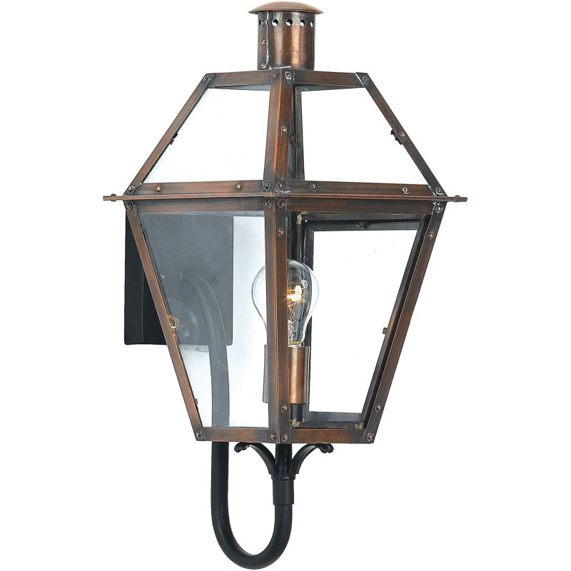 "Quoizel RO8410 Rue De Royal 1 Light 21"" Tall Outdoor Wall Sconce with"