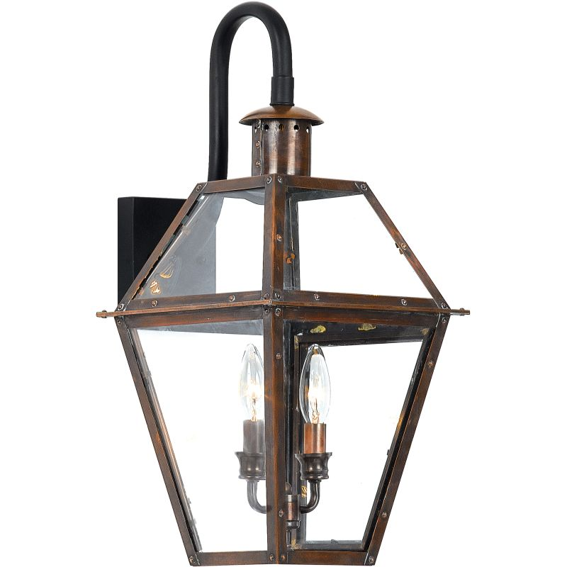 """Quoizel RO8411 Rue De Royal 2 Light 22"""" Tall Outdoor Wall Sconce with"""