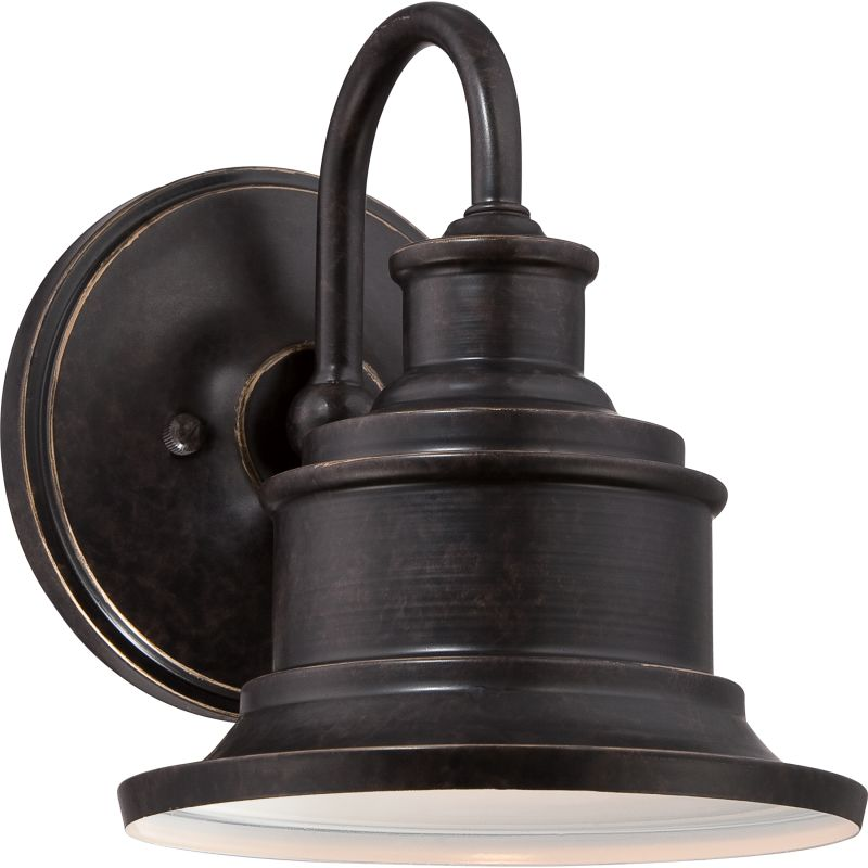 Quoizel SFD8407IB Imperial Bronze Industrial Seaford Wall Sconce