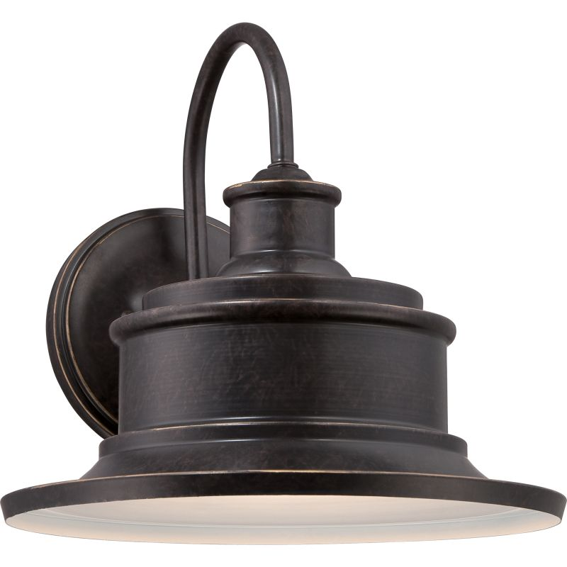Quoizel SFD8409IB Imperial Bronze Industrial Seaford Wall Sconce