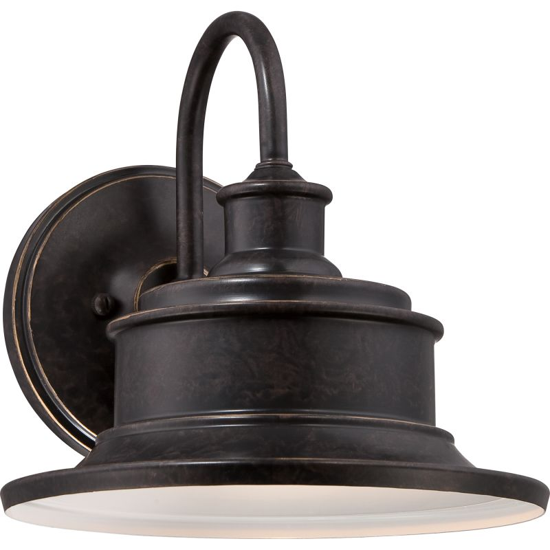 Quoizel SFD8411IB Imperial Bronze Industrial Seaford Wall Sconce