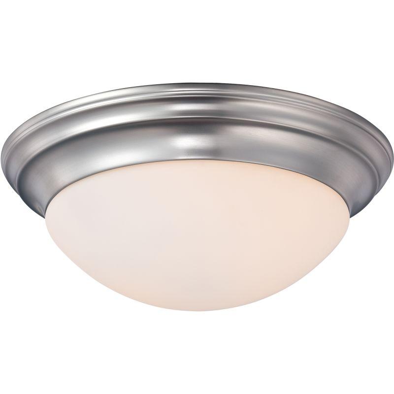 """Quoizel SMT1612 Summit 1 Light 12"""" Wide Flush Mount Ceiling Fixture"""