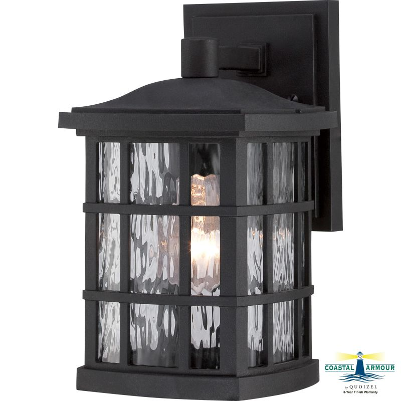 """Quoizel SNN8406FL Stonington 1 Light 11"""" Tall Outdoor Wall Sconce with"""