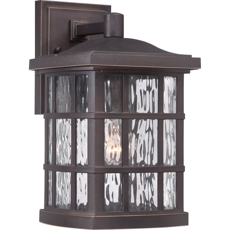 """Quoizel SNN8408FL Stonington 1 Light 13"""" Tall Outdoor Wall Sconce with"""