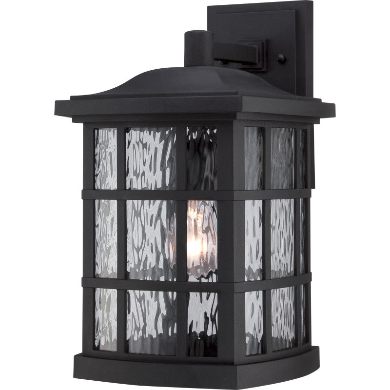 """Quoizel SNN8409FL Stonington 1 Light 16"""" Tall Outdoor Wall Sconce with"""