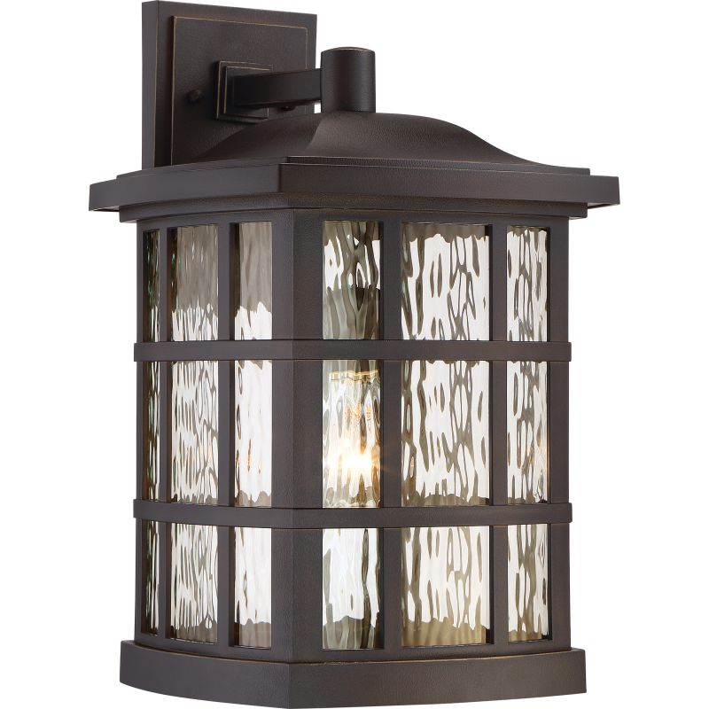 "Quoizel SNN8411 Stonington 1 Light 17"" Tall Outdoor Lantern Wall"