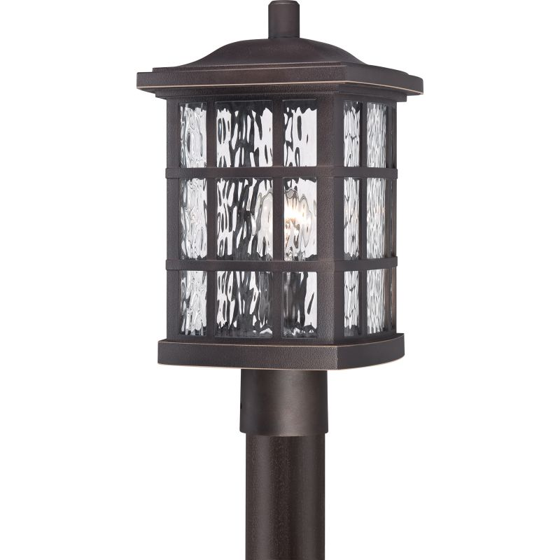 """Quoizel SNN9009FL Stonington 1 Light 17"""" Tall Outdoor Wall Sconce with"""
