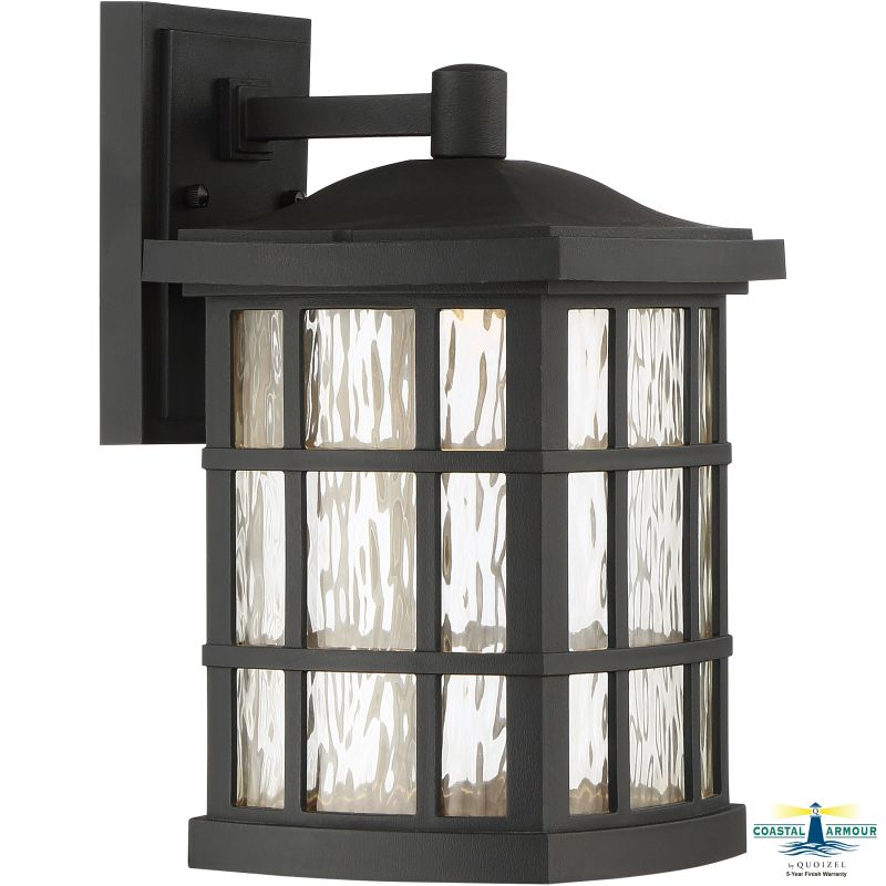 "Quoizel SNNL8408 Stonington 1 Light 13"" Tall Outdoor Wall Sconce with"