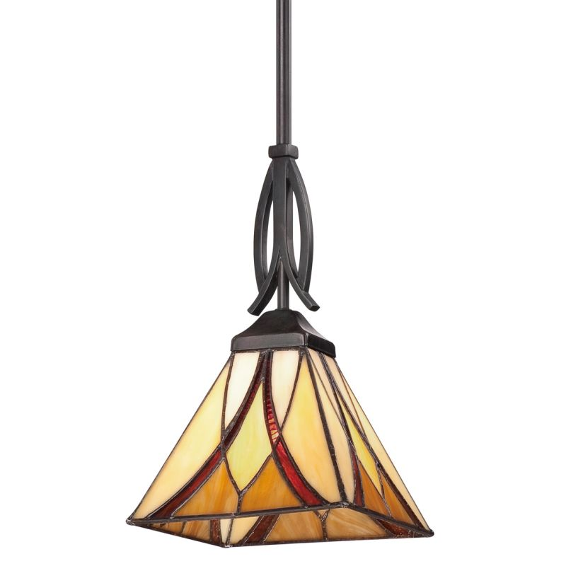 Quoizel Tfas1507va Valiant Bronze Asheville 1 Light Mini