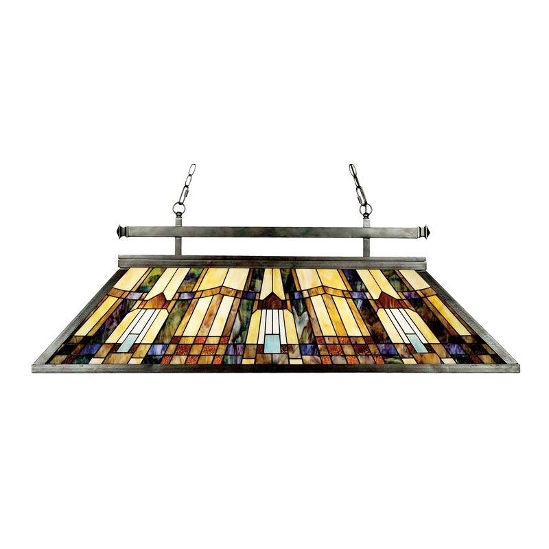 Quoizel TFIK348VA Valiant Bronze Inglenook 3 Light 48