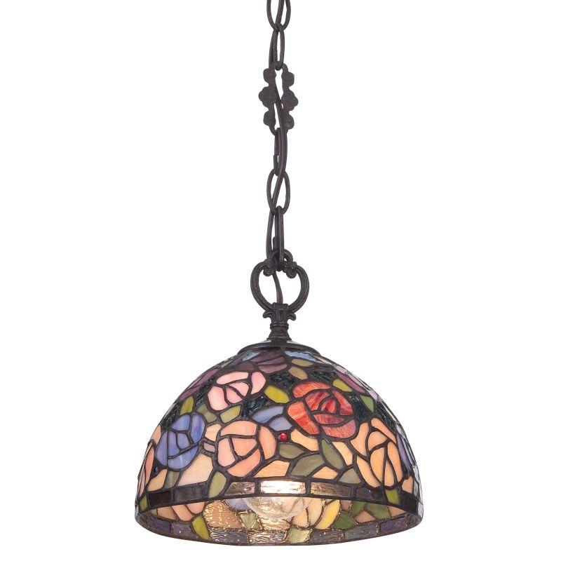 Quoizel TFRA1508 Rosa 1 Light Pendant Imperial Bronze Indoor Lighting