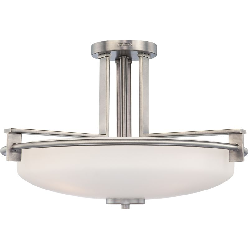 "Quoizel TY1721 Taylor 4 Light 21"" Wide Semi-Flush Ceiling Fixture with"