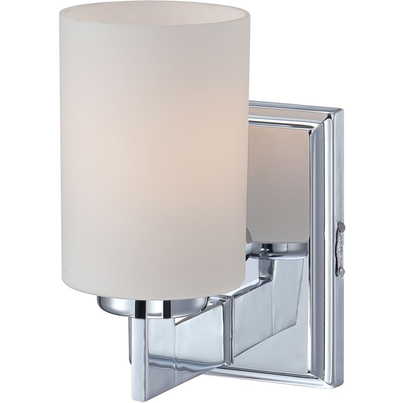 "Quoizel TY8601 Taylor 1 Light 6"" Wide Bathroom Wall Sconce with Glass"
