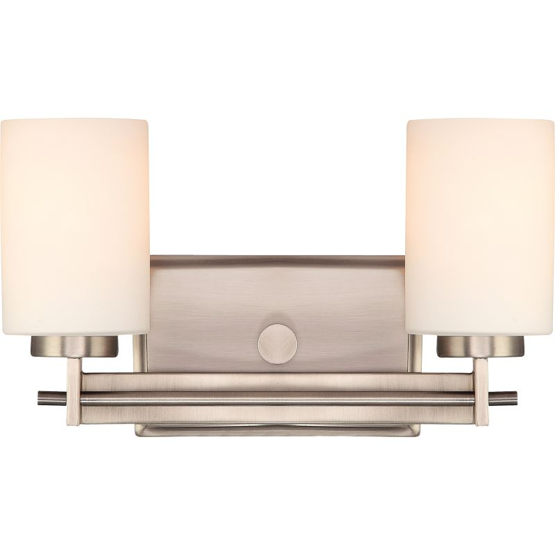 "Quoizel TY8602 Taylor 2 Light 14"" Wide Bathroom Vanity Light with"