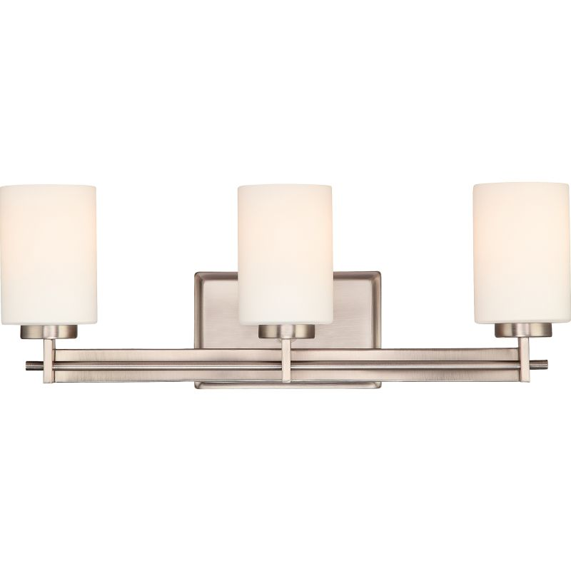 "Quoizel TY8603 Taylor 3 Light 21"" Wide Bathroom Vanity Light with"