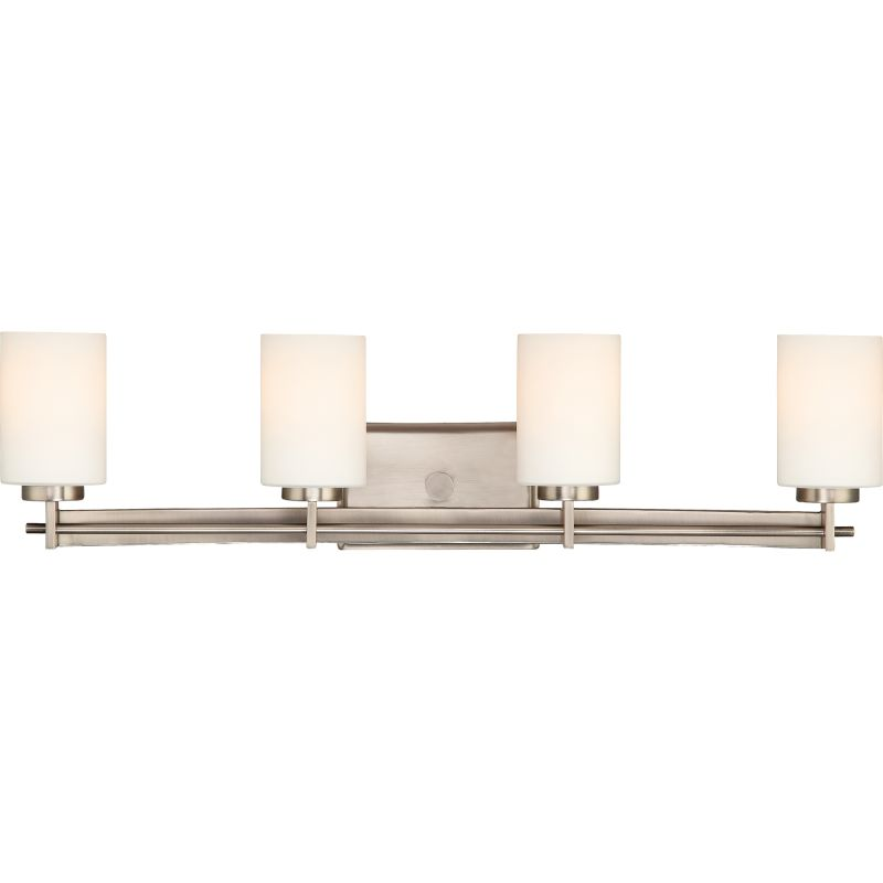 "Quoizel TY8604 Taylor 4 Light 30"" Wide Bathroom Vanity Light with"