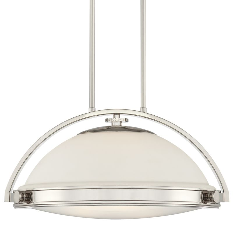 Quoizel UPFT1820 Fulton 3 Light Pendant with Opal Etched Glass