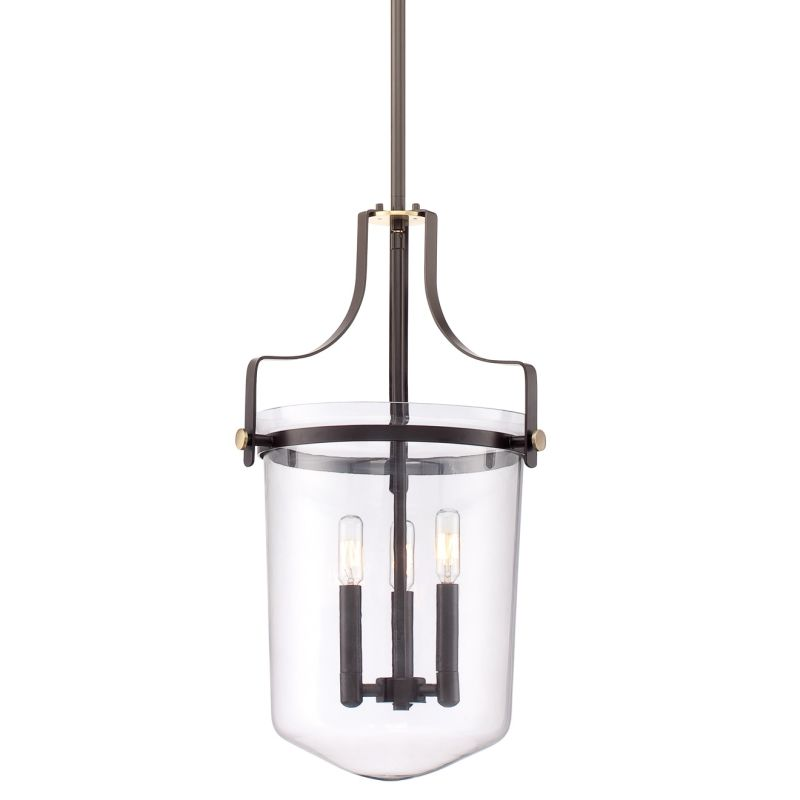 Quoizel UPPS2813WT Bronze Contemporary Uptown Penn Station Pendant