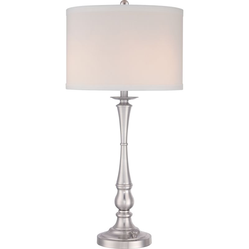 "Quoizel VVAM6130 Ambrose 3 Light 31"" Tall Table Lamp with Hardback"