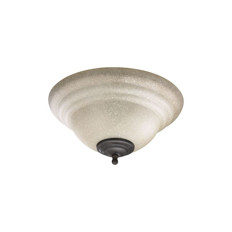 Quorum International 1120 2 Light Bowl Fan Light Kit Toasted Sienna /