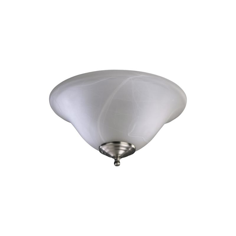 Quorum International 1166 2 Light Fan Light Kit with Bowl Shade Satin