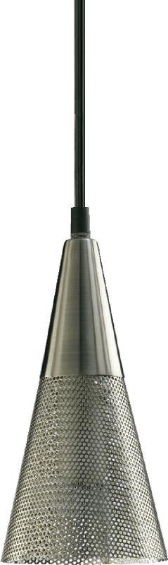Quorum International Q1315 1 Light Mini Pendant with Metal Cone Shade Sale $50.00 ITEM: bci364871 ID#:1315-65 :