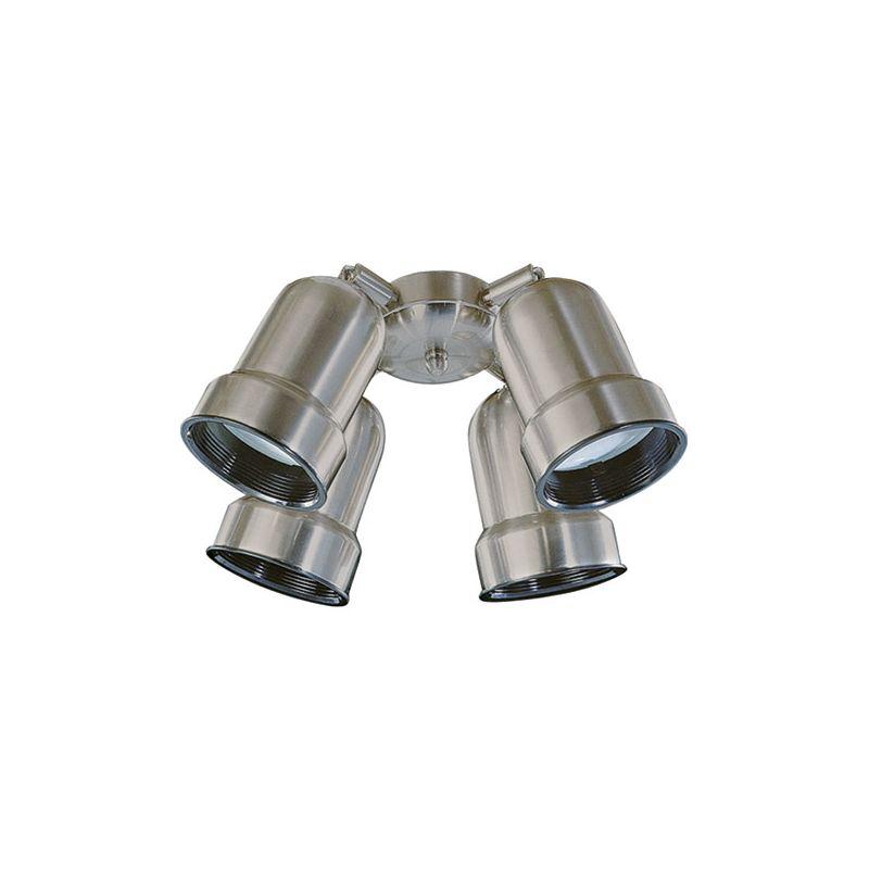 Quorum International 2409 Four Light Fan Light Kit Satin Nickel