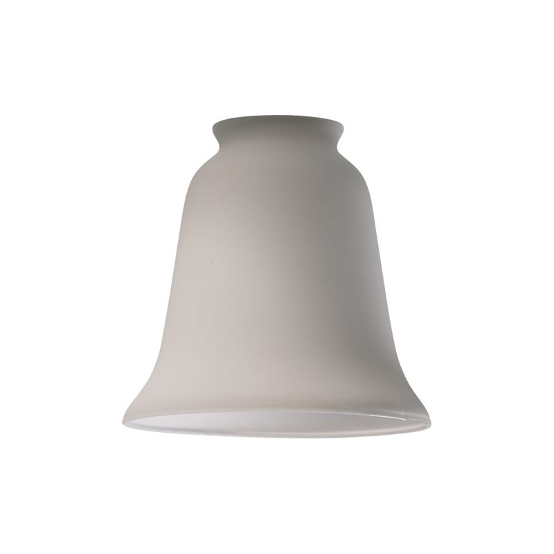 "Quorum International 2520 5"" Satin Opal Tulip Glass Shade Satin Opal"