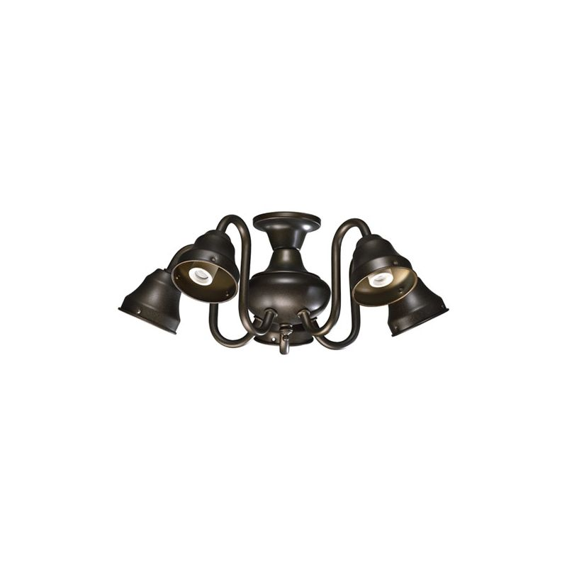 Quorum International 2530 5 Light Kit for Ceiling Fans with Curved