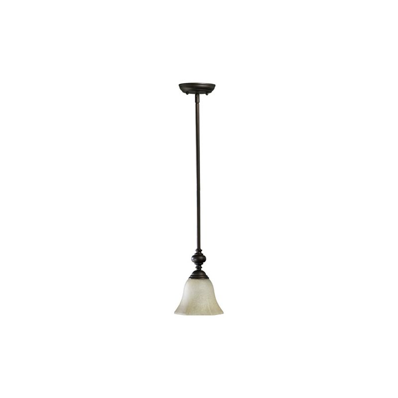 Quorum International 3331 Marcela 1 Light Mini Pendant Oiled Bronze