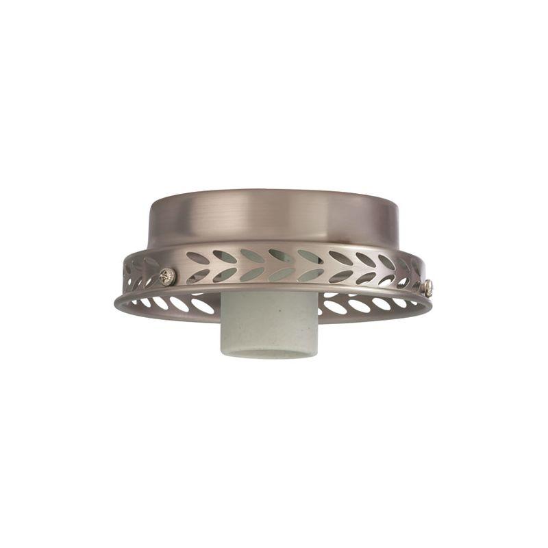 Quorum International 4102 Single Light Fan Light Fixture Kit Satin
